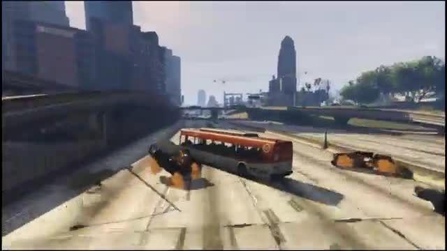 دریفت اتوبوس سنگین