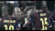 تمام گل های بازی بارسلونا 3 - 1 آژاکس / مرحله گروهی
