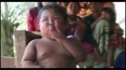 سیگارکشیدن بچه 3ساله تایلندی