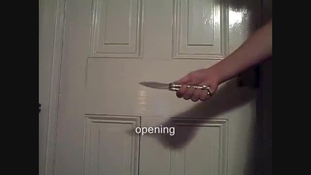 انواع حرکات زیبا با چاقوی پروانه ای یا balisong