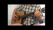 تک نوازی آهنگ Geronimos Cadillac مدرن تاکینگ با گیتار