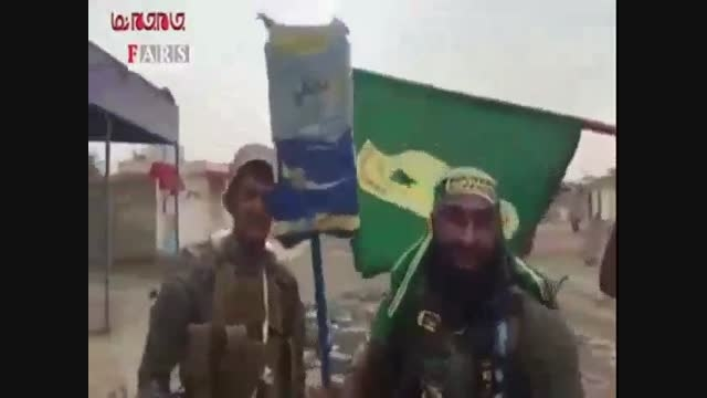 رونمایی پرچم جدید داعش توسط ابوعزرائیل فیلم گلچین صفاسا