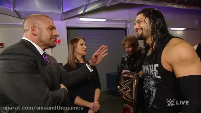 The Authority raises the stakes for Roman Reigns