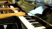 اجرای آهنگ Until the last moment یانی با پیانو