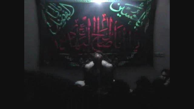 شب شهادت امام رضا علیه السلام سال۹۳ حاج ابراهیم