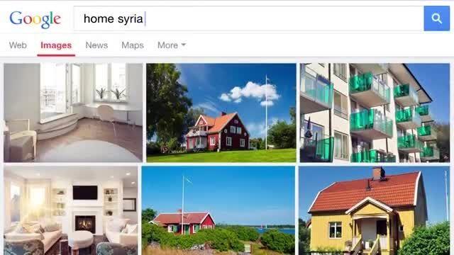 تفاوت سرچ كردن در گوگل براى كشورهاى سوئد و سوریه !