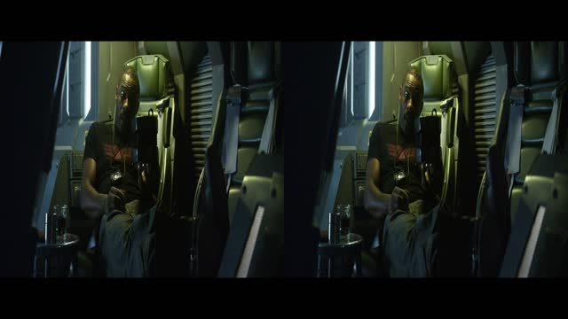 قسمت کوتاه فیلم سه بعدی Prometheus 2012 3D