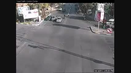 تصادف دلخراش ومنجربه مرگ سرنشین موتورسیکلت!...