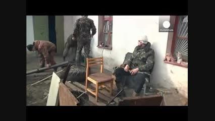 نبرد سنگین در شرق اوکراین!!