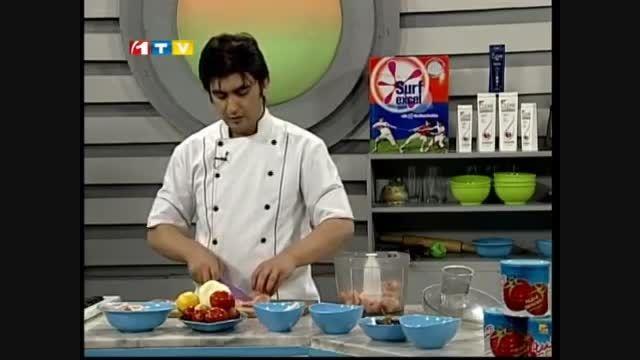 Ashpazi - Pukhtan Bflo Pizza آشپزی - طرز تهیه پیتزای بف