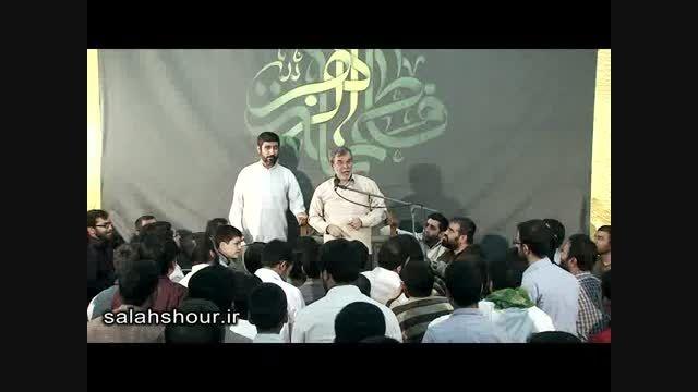 شعر خوانی حماسی استاد حاج ولی الله کلامی به زبان آذری