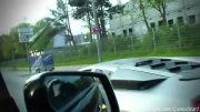 لانچ کنترل دیوانه کننده ی لامبورگینی مورسیه لگو در خیابان