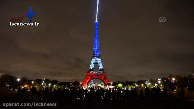 حال و هوای این روزهای برج ایفل پاریس