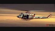 پرواز جتمن بر فراز دبی