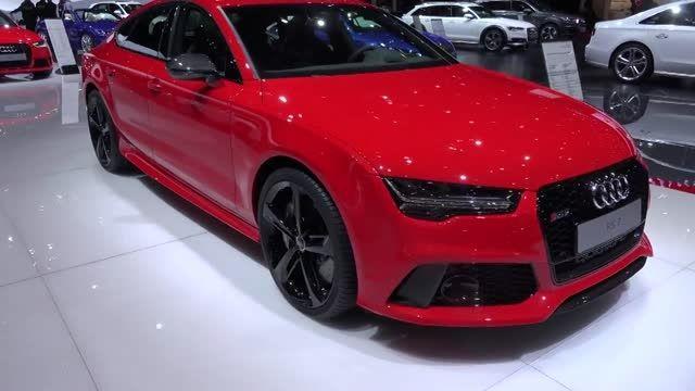 Audi RS7 در ژنو 2015