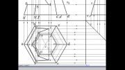 درس هفدهم – برخورد یک صفحات خاص با هرم شش ضلعی منتظم