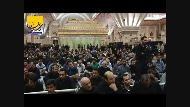 عزاداری شب بیست و سوم ماه مبارک رمضان در حرم امام خمینی