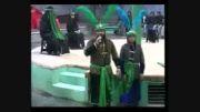 تعزیه شهادت حضرت ابوالفضل(حسینیه تخماقلو)
