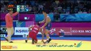 کشتی: پیروزی اکبری مقابل نماینده کره جنوبی