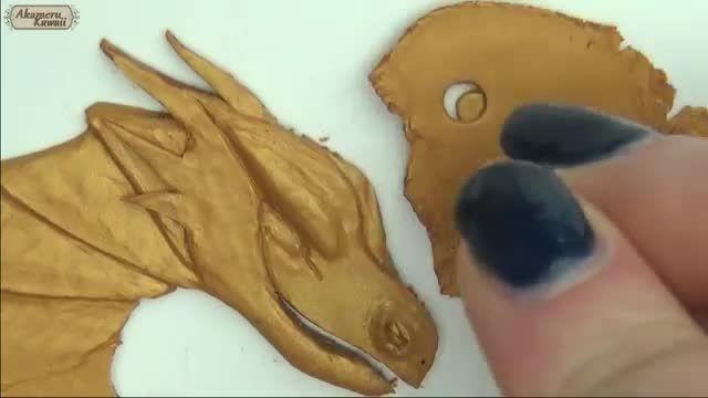 ساخت قاب گوشی با خمیر
