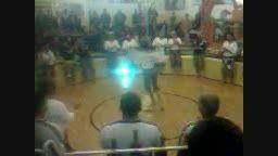 اجرای ورزش باستانی به مناسبت دهه فجر توسط پیشکسوتان