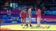 کشتی: پیروزی پرویز هادی مقابل نماینده کره جنوبی
