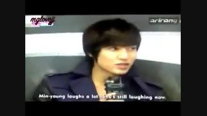 ویژگی های خاص مین یانگ از زبون لی مین هو!(خیلی بامزست!)