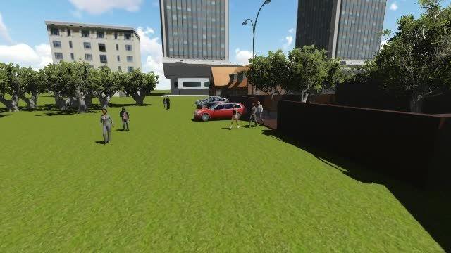 ساخت انیمیشن معماری با استفاده از نرم افزار لومیون