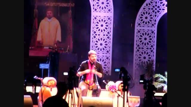 سامی یوسف - اجرای ترانه ساری گلین در کنسرت تطوان 2015