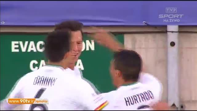 خلاصه بازی: اکوادور ۲-۳ بولیوی