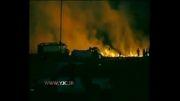 آتش سوزی گسترده در جنگل
