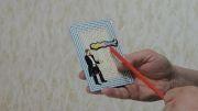 شعبده بازی با خانمی که بالا و پایین میرود   sinjorino