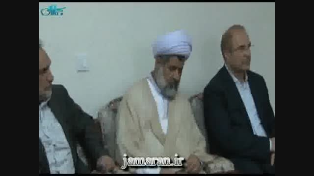 دیدار اعضای شورای اسلامی و شهردارتهران با یادگار امام