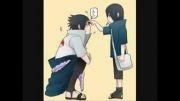 ایتاچی همیشه میزنه تو پیشونیه ساسکه(خوب میکنه)خخخ