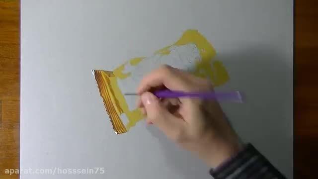 نقاشی سه بعدی شگفت انگیز-فیلم اول
