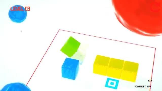 تریلر بازی کامپیوتر معمایی GooCubelets