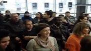 اجرای ترانه فرانسویی(گدای عشق) به مناسبت روز زن در دانشکده