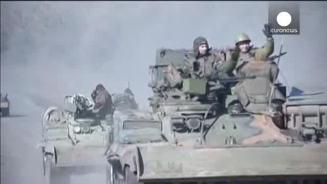 دو طرف درگیر در شرق اوکراین عقب نشینی کردند!