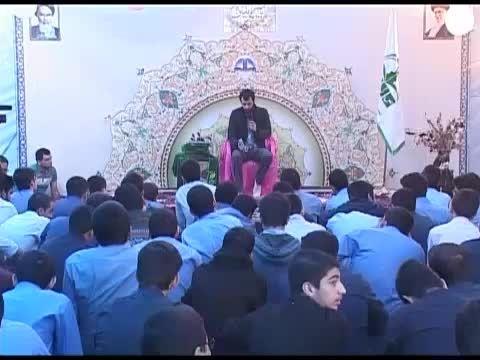 جشن غدیر با مداحی برادر پویانفر در دبیرستان سلام تجریش