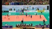 خلاصه ست پنجم والیبال ایران و صربستان (بازی رفت - لیگ جهانی)