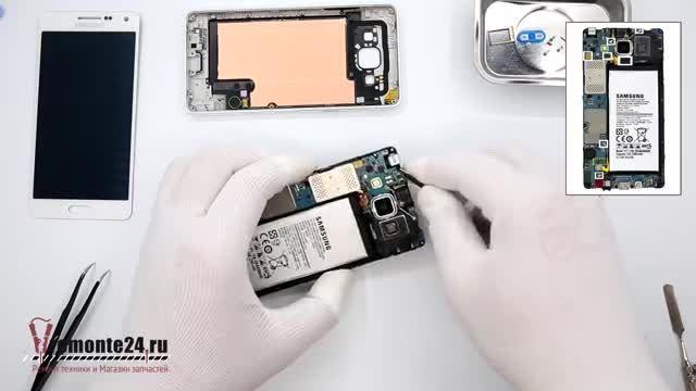 تعویض تاچ و LCD گالکسی A5 - تعویض گلس گالکسی A5