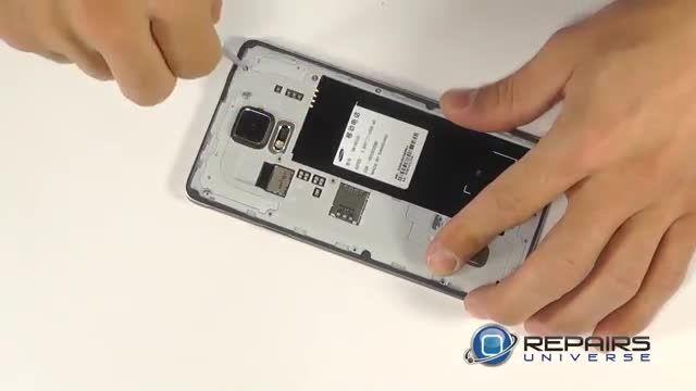 تعویض تاچ و LCD گالکسی نوت 4 - تعویض گلس گالکسی نوت 4