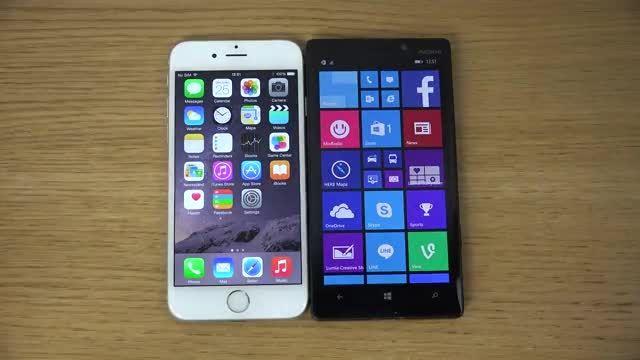 مقایسه nokia lumia 930 با apple iphone 6