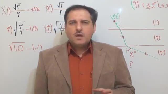 موفقیت در کنکور 95|استاد دربندی|کنکور|مشاوره|موفقیت