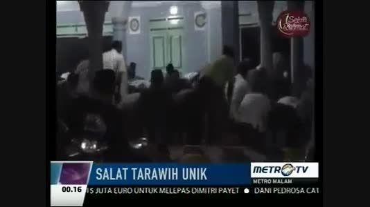 امام جماعت موشکی/23رکعت نماز تراویح  اهل سنت در7دقیقه