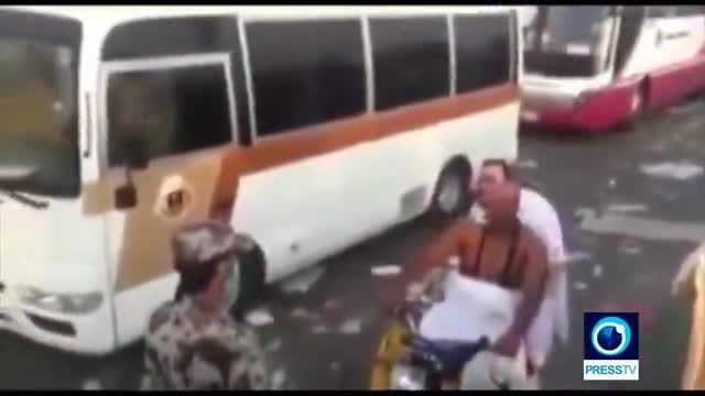 کاروان شاهزاده یکی از عوامل حادثه مرگبار  دیروز در منا