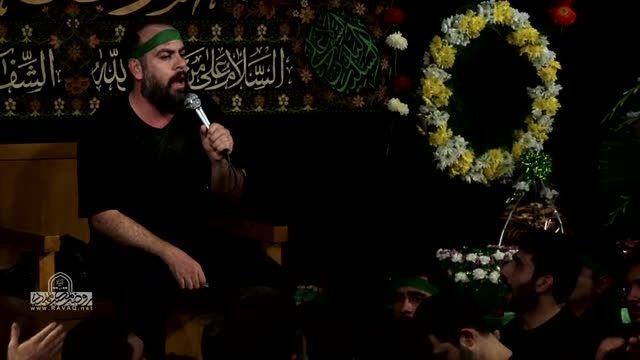 حاج محمود کریمی و حاج محمد کمیل شب ششم محرم 94 شور 4