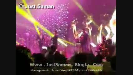 کنسرت سامان جلیلی در تهران ، آهنگ شعله دار(جاست سامان)