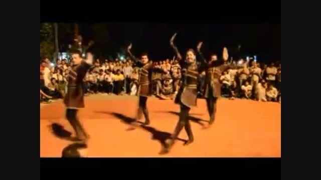 رقص توپ آذری - پارک شهریار ملکان