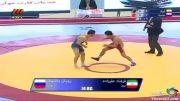 شکست تلخ ایران در فینال کشتی فرنگی(علیزاده)